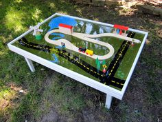DIY Train Table