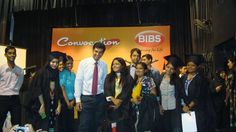 Students with Vidur Kapoor on the day of their convocation ceremony.It was indeed a memorable experience for the students