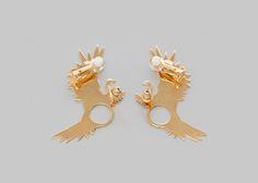 """Meridaa Earrings by """"La fiancée du Facteur"""" (2016) // French Jewelry Design"""