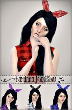 Jennisims : Sets of Jeans & Accessory Bandana Hair.