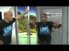 MMA Workout at LiveExercise.com with Blake Kassel and Rashad Evans with his trainer, Coach Van Arsdale.