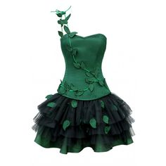 in love Poison Ivy Halloween Outfit