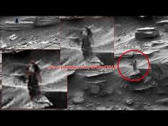 A Strange Woman Walking On Mars Proof of Life on Mars? Everyone's closely checking out this photo of what appears to be a Lady on Mars, captured from NASA's Curiosity Rover. Aliens And Ufos, Ancient Aliens, Creepy, Curiosity Rover, Nasa Images, Alien Abduction, Life On Mars, Ufo Sighting, Conspiracy Theories
