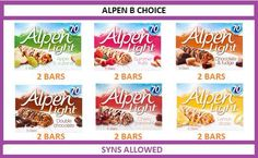 Allen light hex b heb slimming world syn values