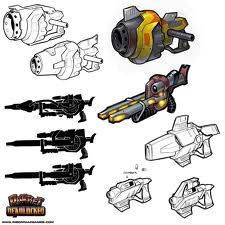 Ratchet and Clank guns