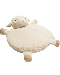 Babies will love playing on this sheep's snuggly padded tummy. Click above to buy this rug for your child's room.