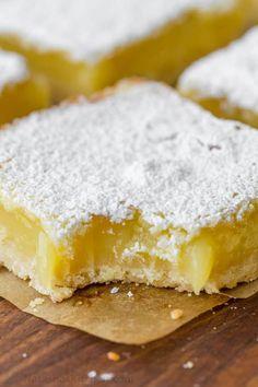 Lemon Desserts, Just Desserts, Delicious Desserts, Yummy Food, Brownie Desserts, Brownie Bar, Lemon Pie Bars, Cookie Recipes, Dessert Recipes