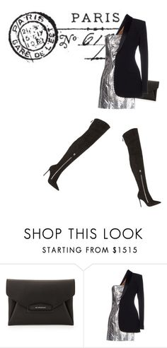 """""""Untitled #1962"""" by kohlanndesigns ❤ liked on Polyvore featuring Givenchy, Jean-Paul Gaultier, Gianvito Rossi, women's clothing, women, female, woman, misses and juniors"""