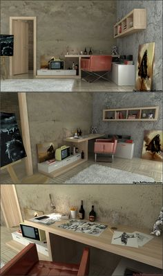 Young Workspaces - #house #housedecorating #housedecor #housedecoration #decor  #decoration  #decorations