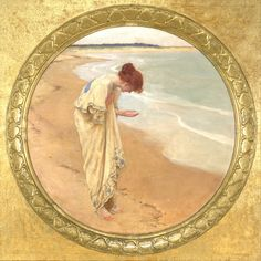 William Henry Margetson (1860-1940) - The sea hath its pearls