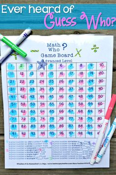 This is the perfect game for kids, in or out of the classroom! It's such a fun way to practice math skills and vocabulary. I use these in a math center or for indoor recess. Check out the various game board versions.