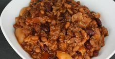 ey, all you rootin tootin bean lovers out there! Today is your lucky day because we are making slow cooker beans that are perfect for taking to that massive church potluck or family reunion that you are going to. Not only are these slow cooker beans easy to prepare but, they taste superior to any other bean recipe that I've had.