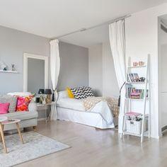 47 Cool Interior Ideas for Modern Apartment - Wohnen & Architektur - Modern Apartment Decor, Apartment Interior Design, Apartment Living, Interior Ideas, Interior Modern, Apartment Ideas, One Room Apartment, Apartment Checklist, Studio Apartment Layout