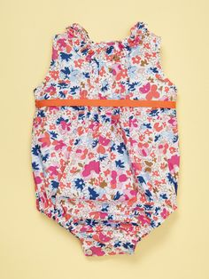 Pleated Baby Romper by Elephantito on Gilt.com