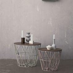 Ferm Living Wire Basket Tops