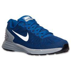 Men's Nike LunarGlide 6 Running Shoes  Finish Line   Gym Blue/Obsidian/Cool Grey