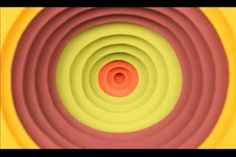 """Streaming Gradient"" by Jen Stark by Jen Stark. This is a stop motion animation created in 2008 using only paper. Music by Eddie Alonso."
