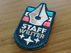 Badge No. 1 - Stitched by Nathan Romero