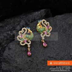 Stylish Golden Earrings to put you in spotlight.