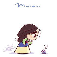 Mulan,garota forte que ama a família . É isso aí ,super apoio