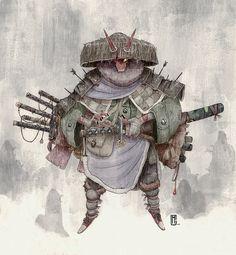 Winner of the CHARACTER DESIGN CHALLENGE! for #SamuraiAndGeisha • Cristobal…