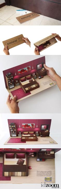 Nice, ikea advertising at it's finest. I would love to get this as a direct marketing piece!
