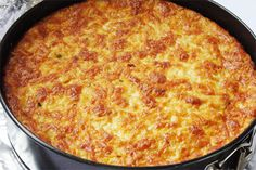 Sweet Corn Pudding recipe comes from Bon Appetite and has become a family favorite, especially of Katy's. Sweet, creamy and tasting of corn, it's great!