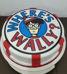 Bolo Onde está Wally?