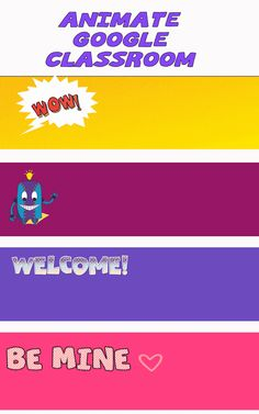 Back to school with animated Google Classroom headers!
