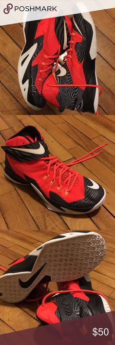 new product ce1dd aa4f1 Men s Nike Lebron Soldier 8 Nike Lebron Solider 8 s Size 11.5 Great  Condition Barely Worn Orange