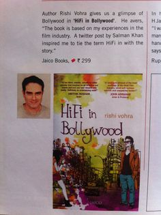 Book featured under the 'Cool Pickings' section of Savvy Magazine Feb issue! Books Fiction Novel Indian Bookshelf Bookshelves Bookstores Bollywood