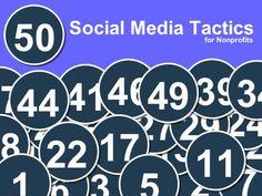 50 Social Media Tactics for Nonprofits