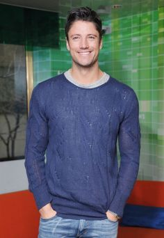 """James Scott Photos - Actor James Scott attends the """"Days of Our Lives 45 Years: A Celebratioin in Photos"""" at the NBC Experience Store on February 2011 in New York City. - """"Days Of Our Lives 45 Years: A Celebration In Photos"""" Book Signing Alison Sweeney, Smiling People, James Scott, Days Of Our Lives, Book Signing, Attractive Men, Our Life, Bad Boys, Photo Book"""