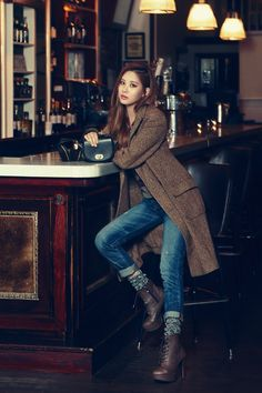 Seohyun - HIGH CUT The coat + the boots