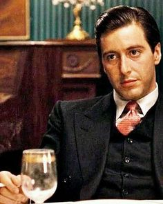 Al Pacino as Michael Corleone. He was smokin' hottt in the Godfather movies. Don Draper, Al Pacino, The Godfather, Godfather Quotes, Steve Mcqueen, Don Corleone, Corleone Family, Coppola, Andy Garcia