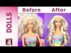 Barbie Hair Repair Tutorial - YouTube