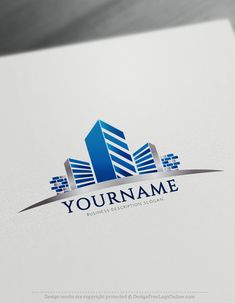 Easily create Construction Logo Design Ideas with Free Logo Design Templates. Use the best free Building Logo templates today. Logo Design Template, Custom Logo Design, Logo Templates, Building Logo, Blue Building, Logo Maker, Online Logo Creator, Construction Logo Design, Design Posters