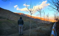 Looking With Amin At view of Tochal peaks from Velenjak mountains.  Velenjak is a neighbourhood, northwest of Tehran, in Iran. Located in the Shemiran area in the ...  #LookingWith #Velenjak #Touchal #Tehran #Iran  http://lookingwith.com/home/photo/260