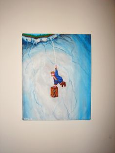 Guybrush Threepwood - Monkey Island 2 - Lechucks Revenge - Original Painting.. via Etsy.
