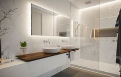 If you have a small bathroom in your home, don't be confuse to change to make it look larger. Not only small bathroom, but also the largest bathrooms have their problems and design flaws. Bathroom Spa, Bathroom Toilets, Bathroom Renos, Laundry In Bathroom, Bathroom Layout, Bathroom Interior Design, Small Bathroom, Master Bathroom, Bathroom Vanities