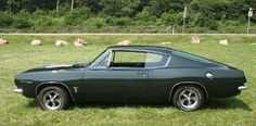 1967 Barracuda fastback