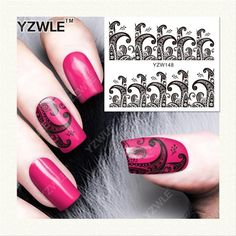 Water Transfer Nail Stickers at very less rate with free shipping
