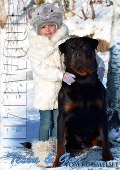 #Rottweiler with kid