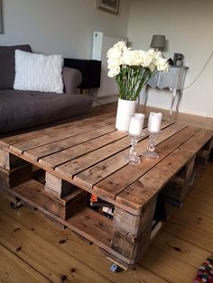 Love the idea of this table.