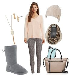 """Thanksgiving with Phyllis"" by bearpawstyle on Polyvore featuring H&M, Nordstrom and Kate Spade"