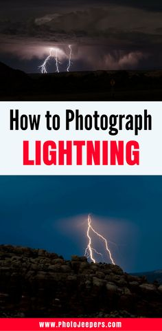 Lightning looks incredible, but how in the world do some people catch it on camera? Here are some of our top tips to photograph lightning and landscapes at night. It includes the gear you'll need and the camera settings you need to focus on. You'll definitely want to save this to your photography board!