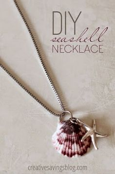50 Magical DIY Ideas with Sea Shells   Do it yourself ideas and projects  -  I MADE A SIMILAR ONE MINUS THE CHARM, WAAAAAY BACK IN 1976-still have it!!!