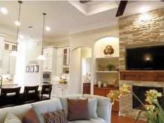 Dream Finders Homes Valencia Ii Model Kitchen And Family Room