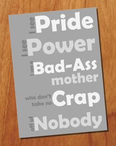 I See Pride 5x7 Printable Quote Grayscale by FortySevenDesign, $3.00