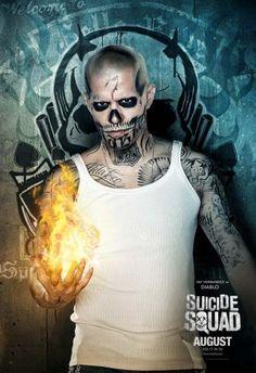 El Diablo Suicide Squad character poster